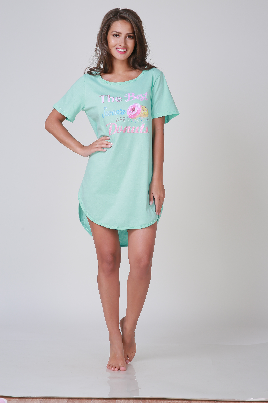 Ночные сорочки Pastilla Ночная сорочка Лайт Цвет: Ментол (xL-xxL)
