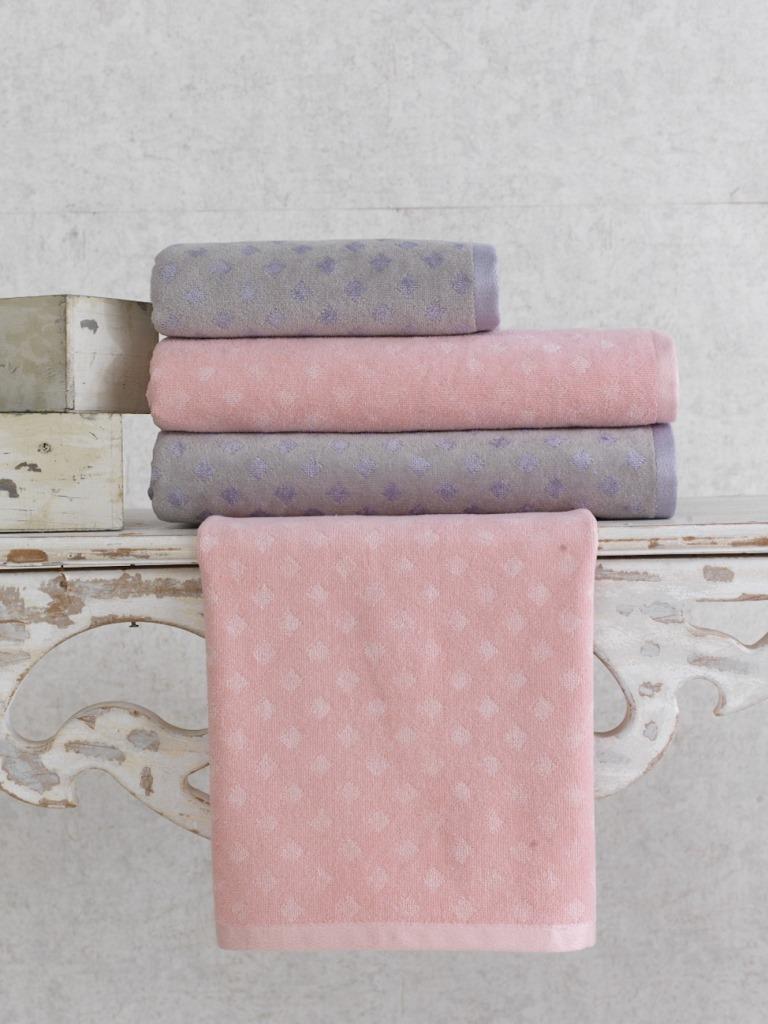Полотенца Arya Полотенце Morta Цвет: Пудра (50х90 см) полотенца arya полотенце otel цвет белый 50х90 см 6 шт