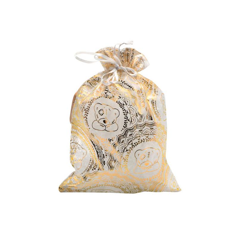 {}  Мешок подарочный Me to you (18х24 см) kaemingk дружелюбный снеговик в колпаке 18х24 см 667656