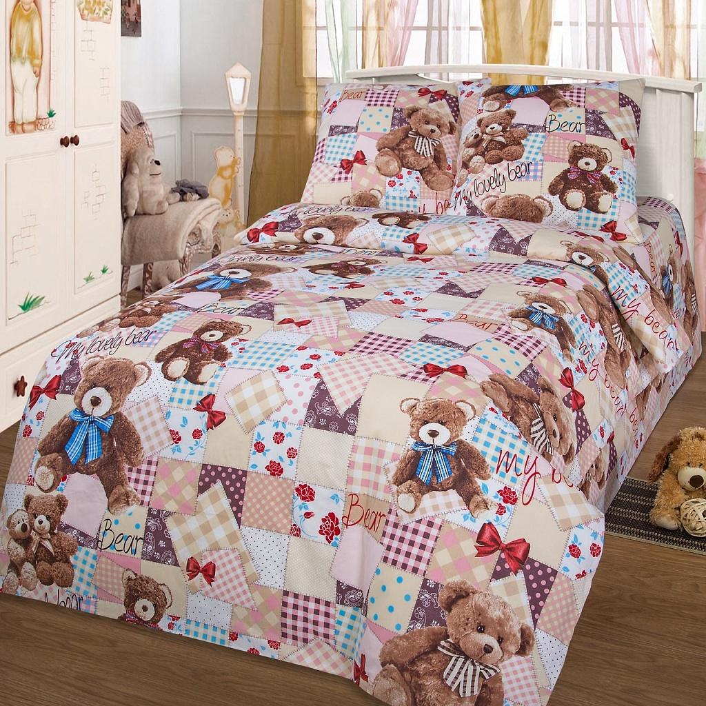 Детское Постельное белье Valtery Детское Постельное белье My Lovely Bear (150х215 см)