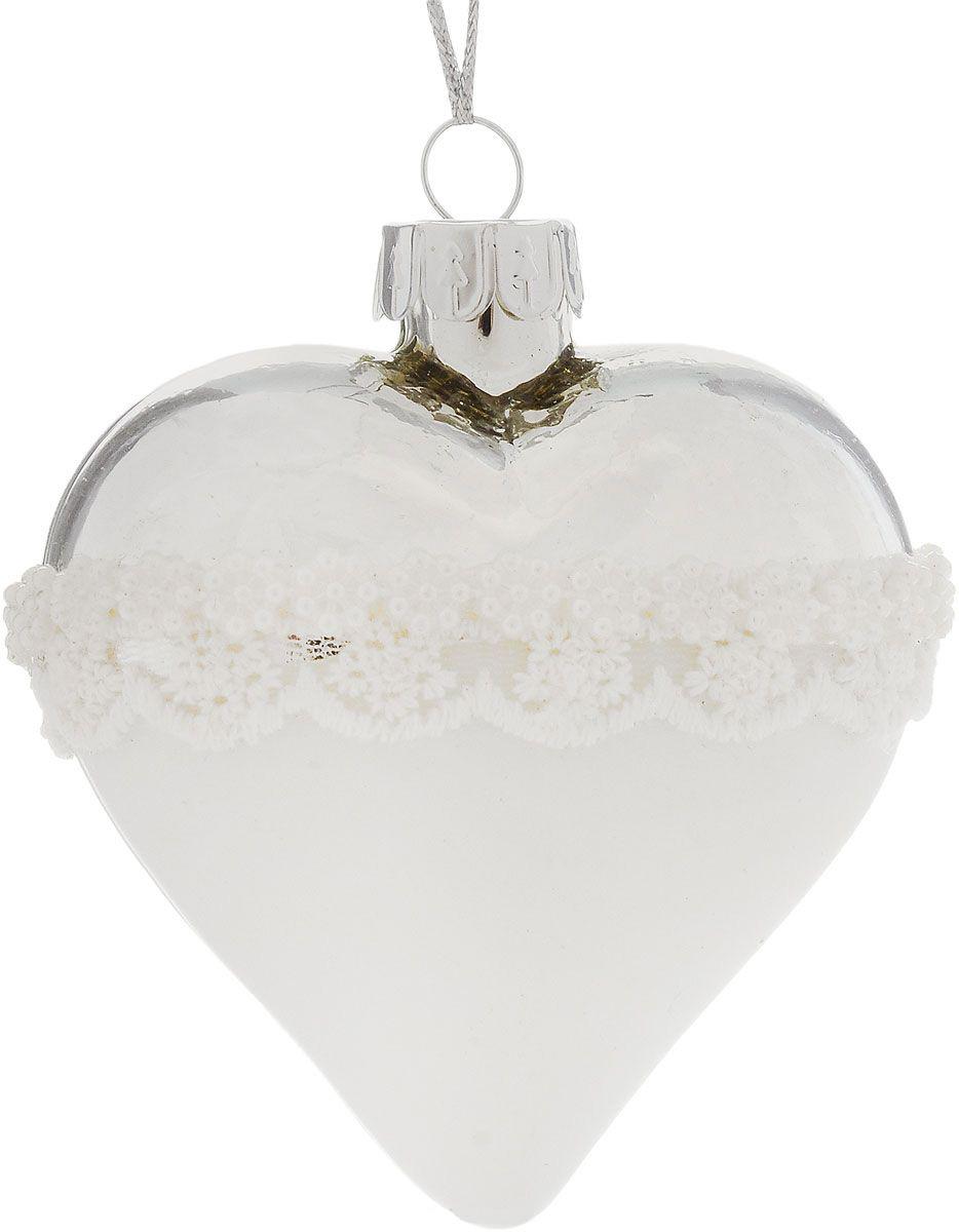 {} Шар Сердце (7 см) елочные украшения winter wings шар 7 см 1 шт стекло n079010