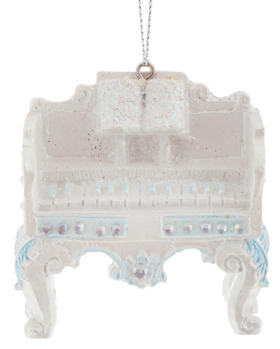 {}  Подвеска декоративная Клавесин (8 см) декоративная фигурка мишка именинник высота 13 см 29373