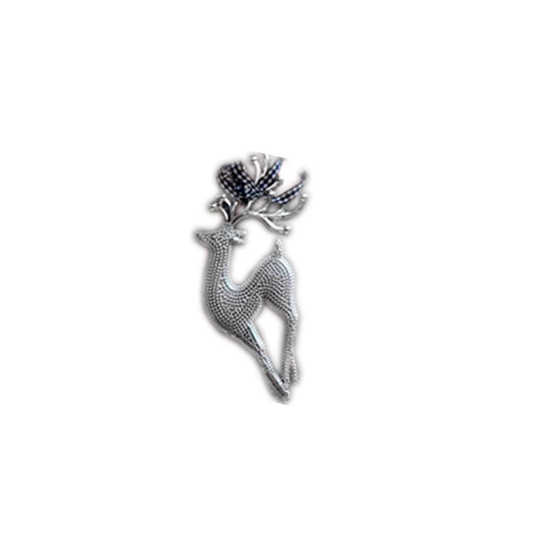 {}  Подвеска декоративная Олень Цвет: Серый (6х16 см) штампованный диск trebl х40032 6х16 4х100 d60 1 et36 silver