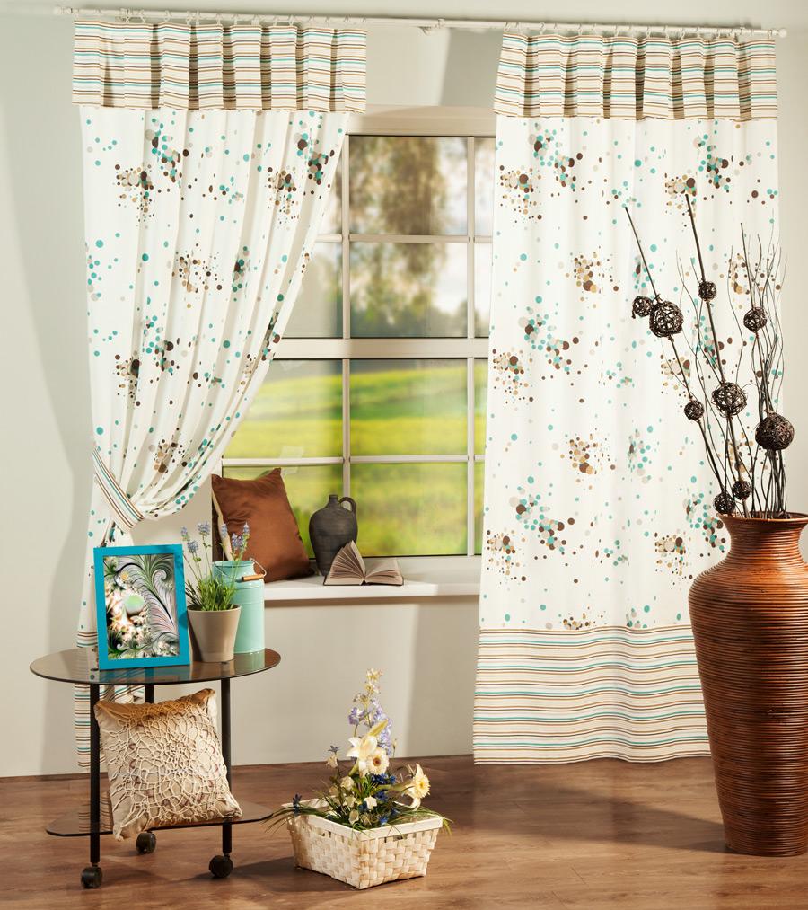 Шторы PASIONARIA Классические шторы Оникс Плюс Цвет: Бирюзовый шторы tac классические шторы winx цвет персиковый 200x265 см