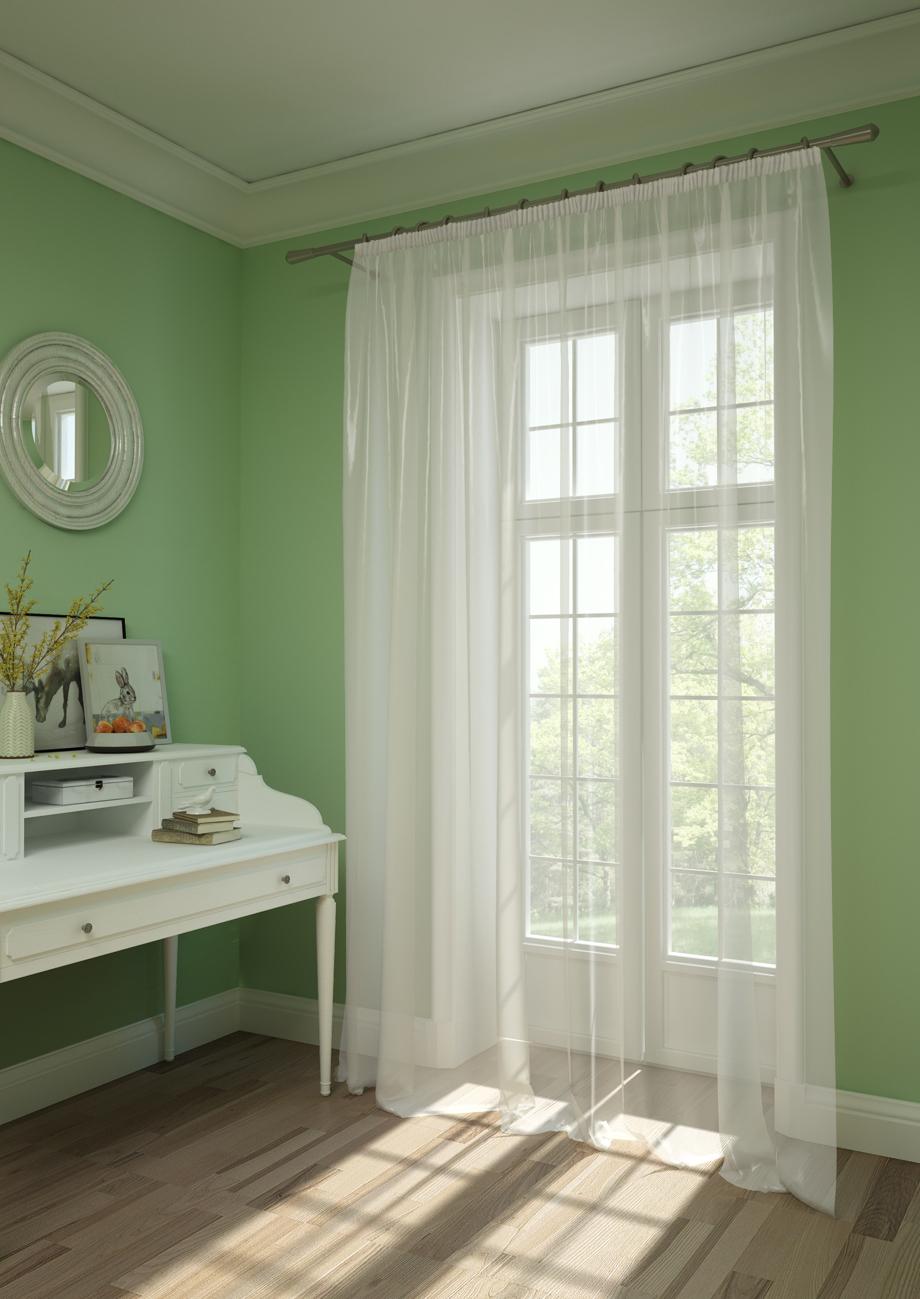 Шторы Kauffort Классические шторы Oriana-XL Цвет: Белый шторы kauffort классические шторы montana xl цвет фиолетовый желтый