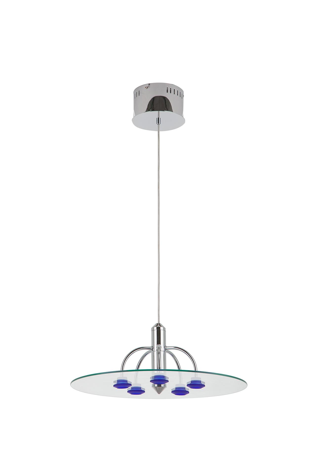 {} CRYSTAL LIGHT Подвесной светильник Umay (48 см) лампа галогенная полусфера paulmann g4 20w 2900к 83233