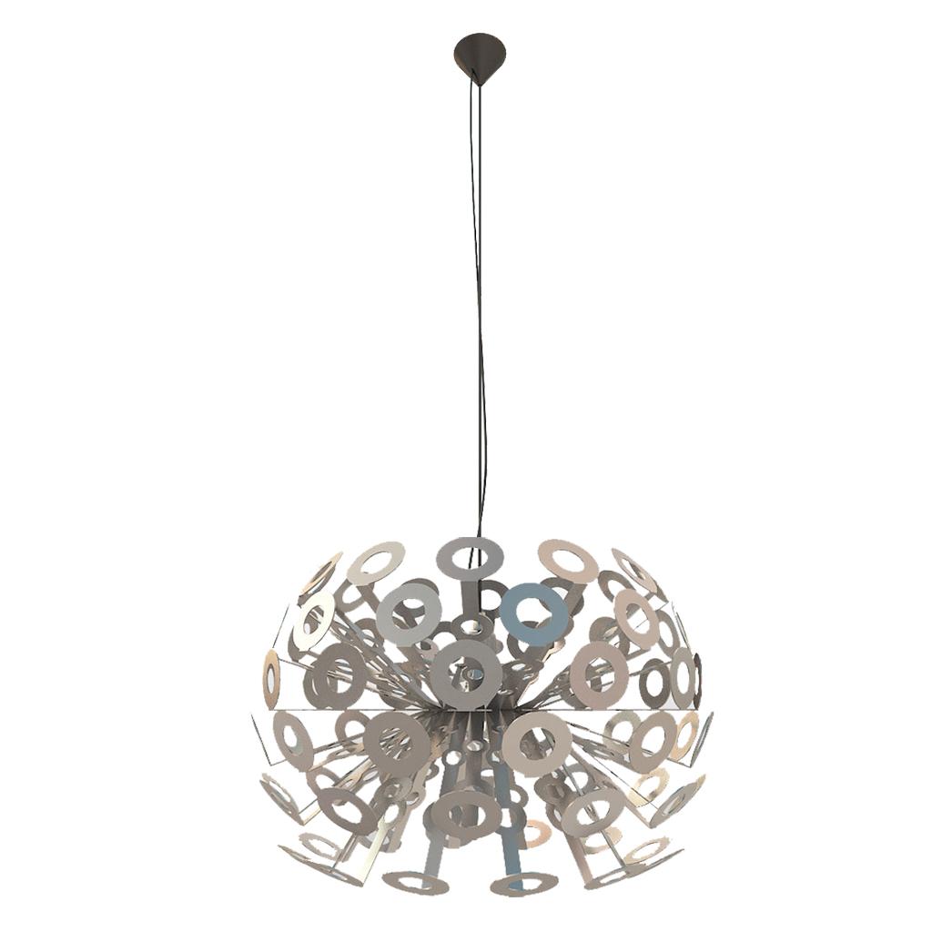 {} CRYSTAL LIGHT Светильник подвесной Moooi Dandelion Цвет: Серебряный (80х200 см) crystal light светильник подвесной moooi dandelion цвет серебряный 80х200 см