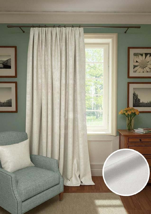 Шторы Kauffort Классические шторы Galilee Цвет: Белый шторы primavera классические шторы maev цвет персиковый