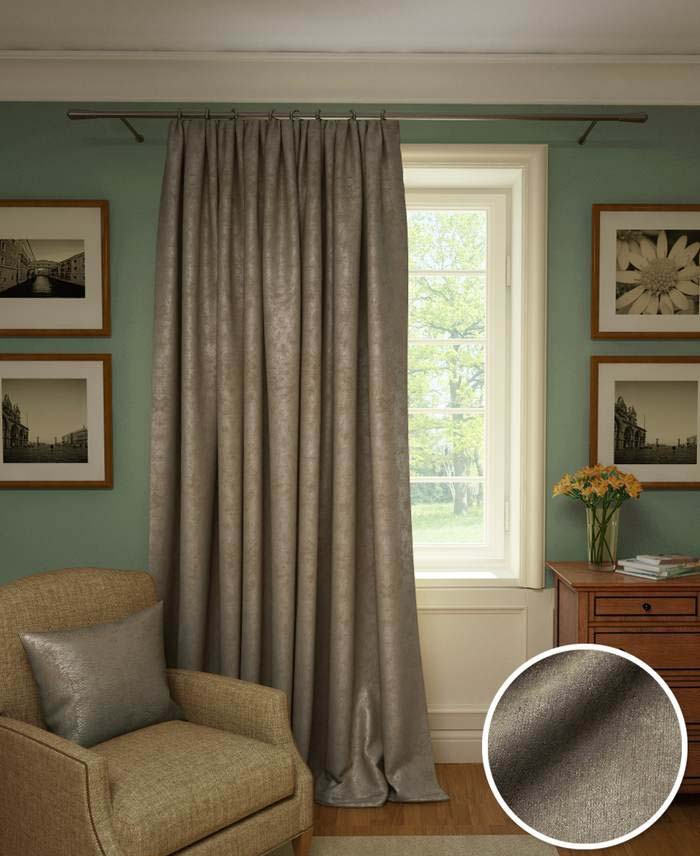 Шторы Kauffort Классические шторы Galilee Цвет: Серо-Лиловый шторы kauffort классические шторы barolo