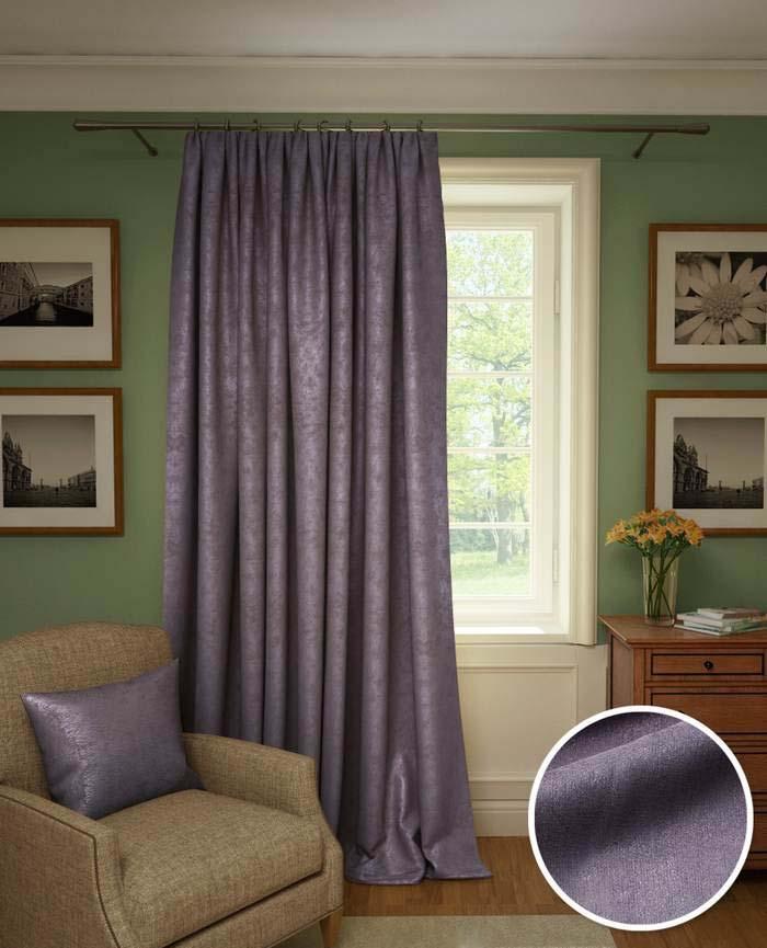 Шторы Kauffort Классические шторы Galilee Цвет: Фиолетовый шторы kauffort классические шторы barolo
