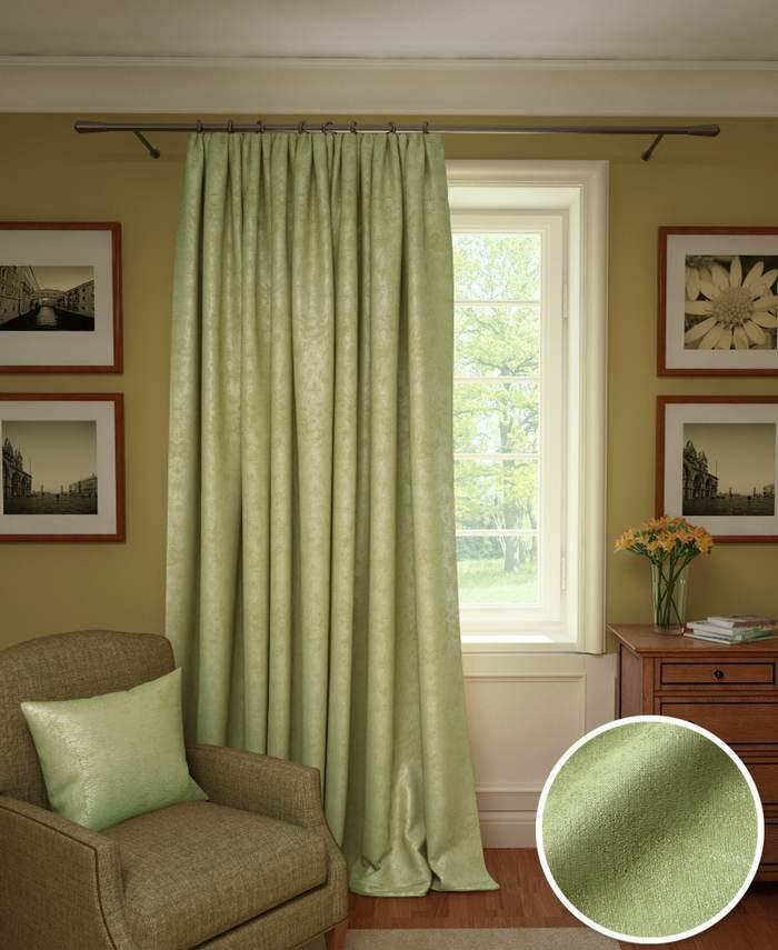 Шторы Kauffort Классические шторы Galilee Цвет: Светло-Зеленый шторы kauffort классические шторы galilee цвет светло зеленый