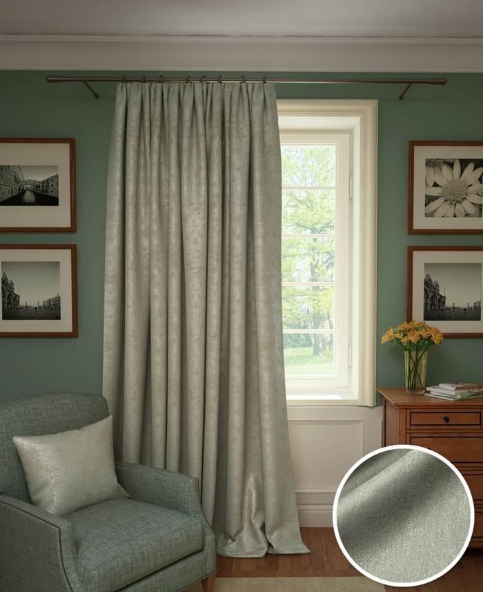 Шторы Kauffort Классические шторы Galilee Цвет: Серый шторы kauffort классические шторы barolo