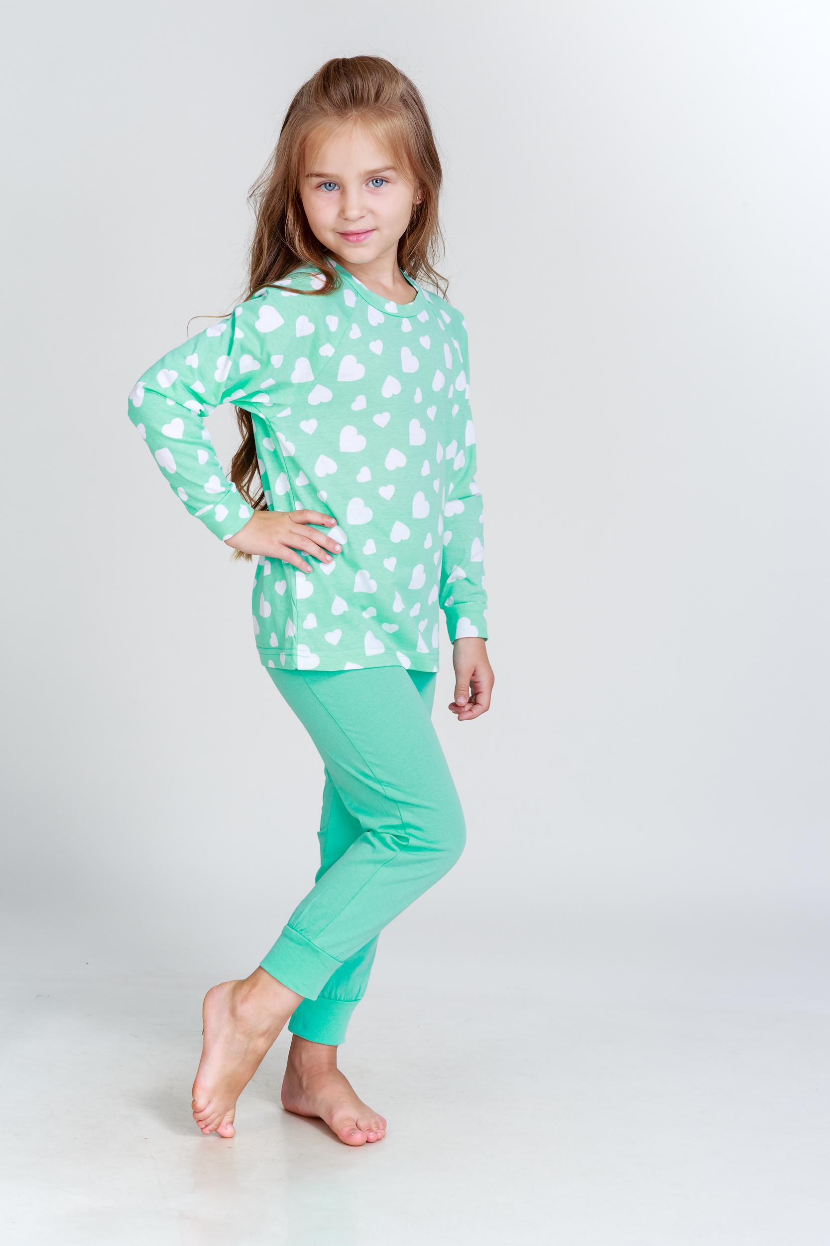 Детские пижамы Pastilla Детская пижама Стелла Цвет: Ментоловый (6 лет)