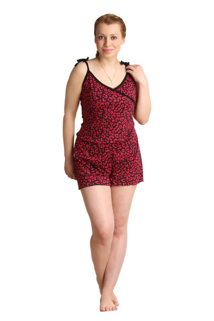 Пижамы ElenaTex Пижама Roxy Цвет: Малина (xL) пижама жен mia cara майка шорты botanical aw15 ubl lst 264 р 42 44 1119503