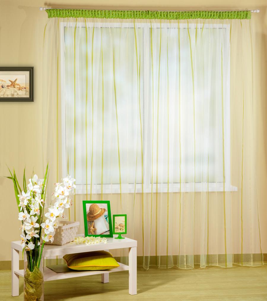 Шторы PASIONARIA Классические шторы Рея Цвет: Зеленый pasionaria pasionaria классические шторы оксфорд цвет зеленый