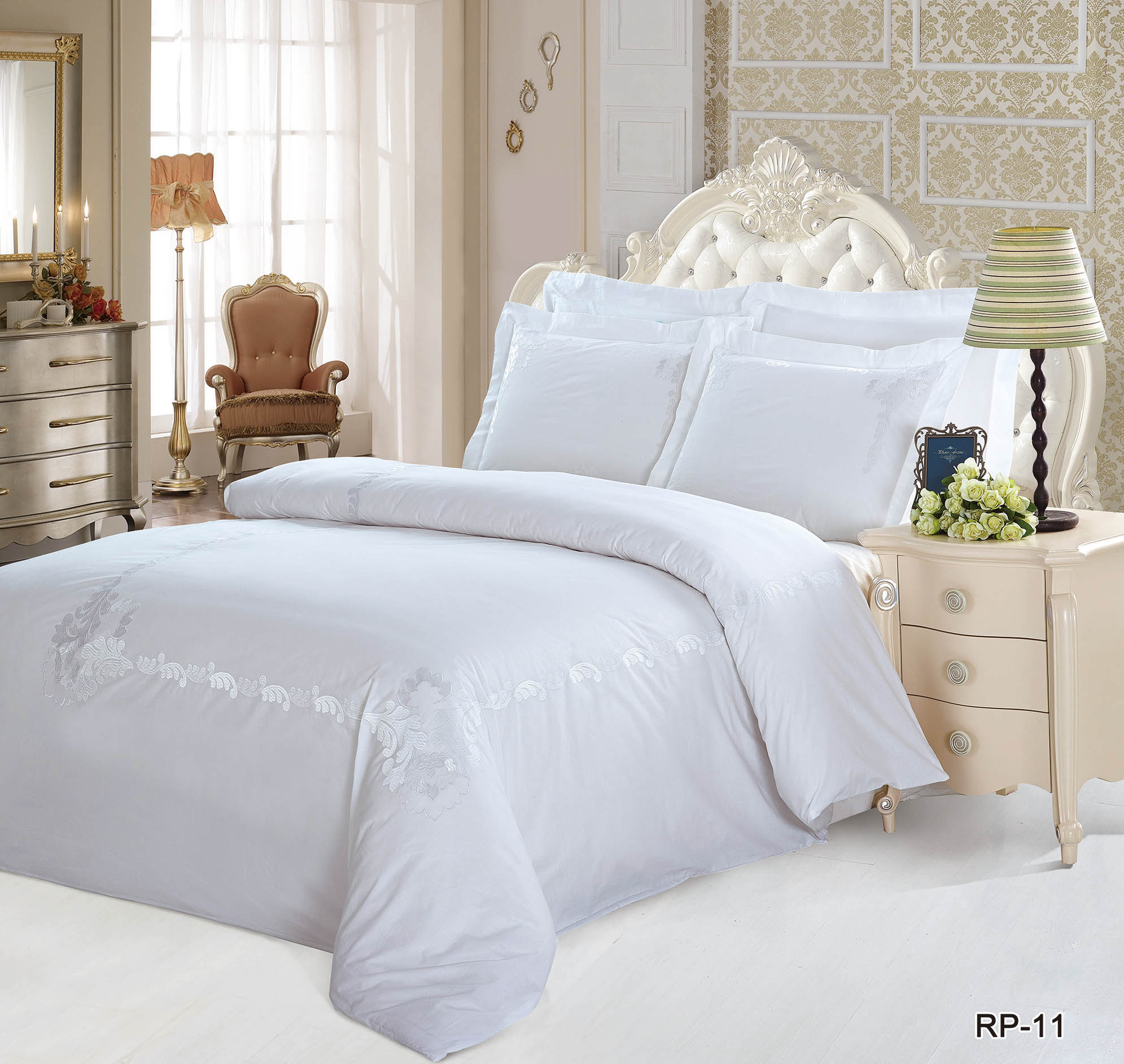 Постельное белье KingSilk Постельное белье Wat  (2 сп. евро) постельное белье dome постельное белье tammara 2 сп евро