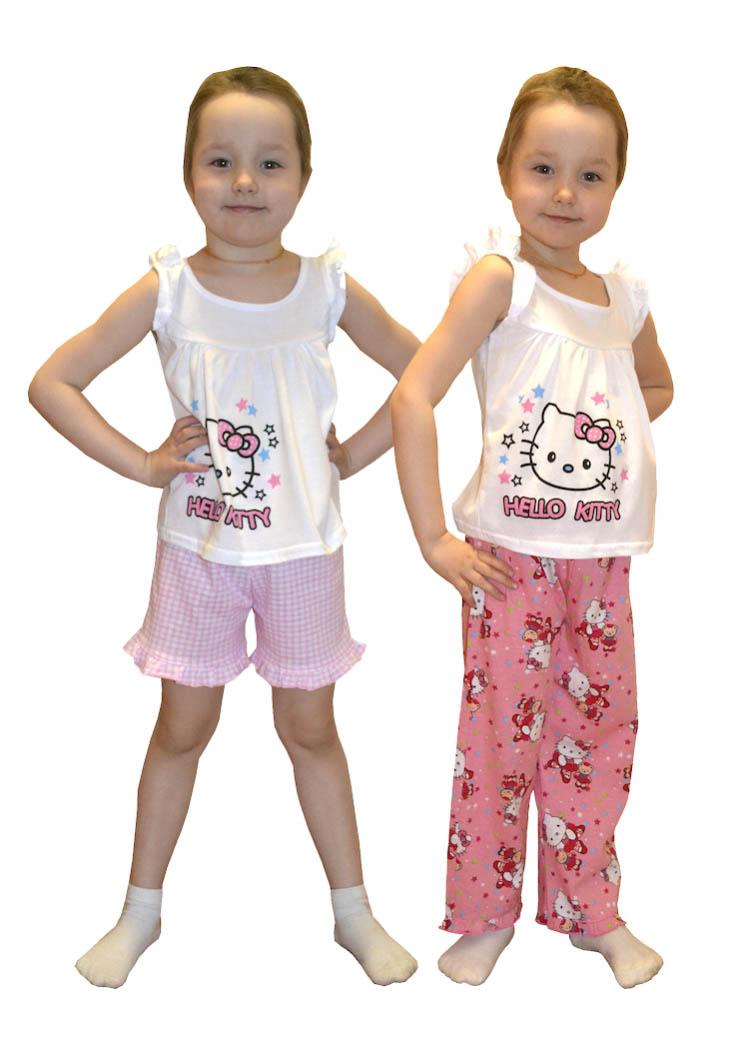 Детские пижамы Pastilla Детская пижама Радуга Цвет: Розовый (4 года)