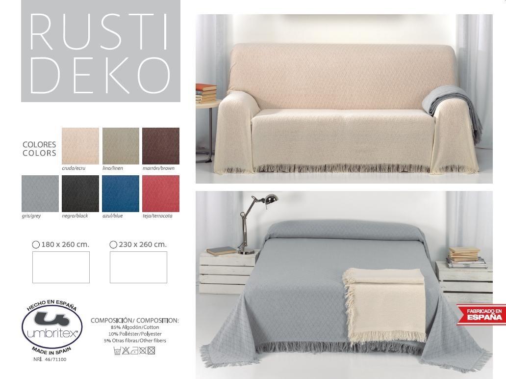 где купить Покрывало Umbritex Покрывало Rustica1 Цвет: Коричневый (180х260 см) по лучшей цене