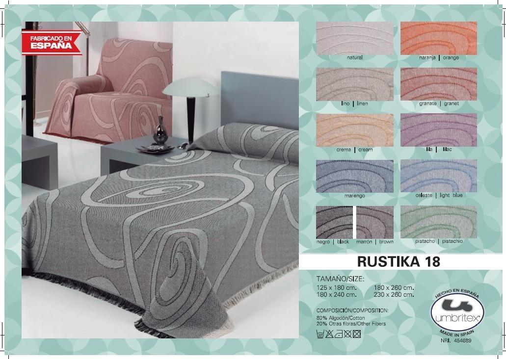 где купить Покрывало Umbritex Покрывало Rustika18 Цвет: Фисташковый (180х260 см) по лучшей цене