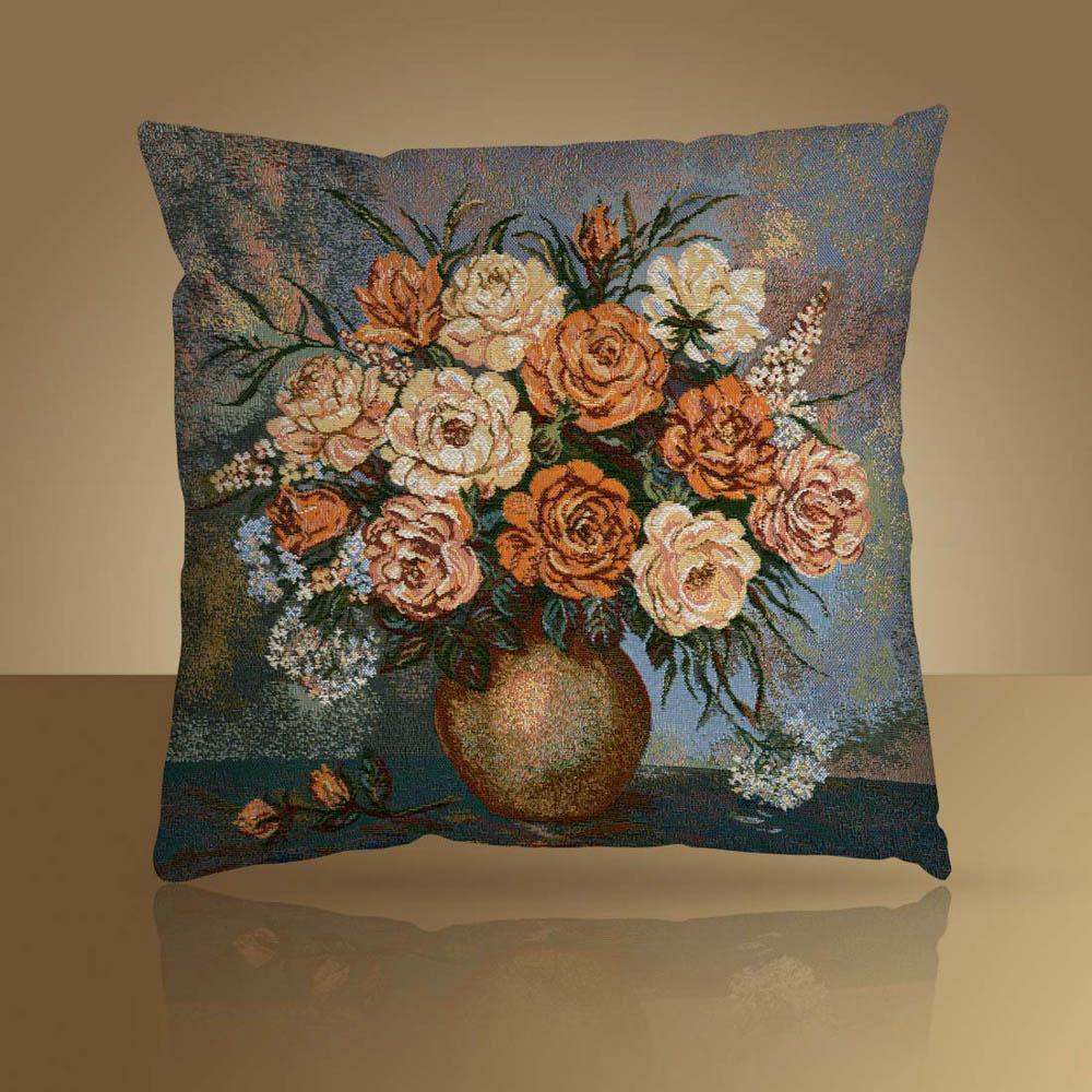 Декоративные подушки Мток Декоративная наволочка Ароматный Букет (50х50) картины сирень картина ароматный букет