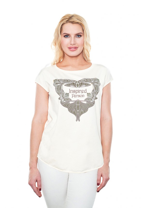 Футболки BeGood Футболка Miya Цвет: Молочный (L) футболки begood футболка стрекоза цвет молочный m