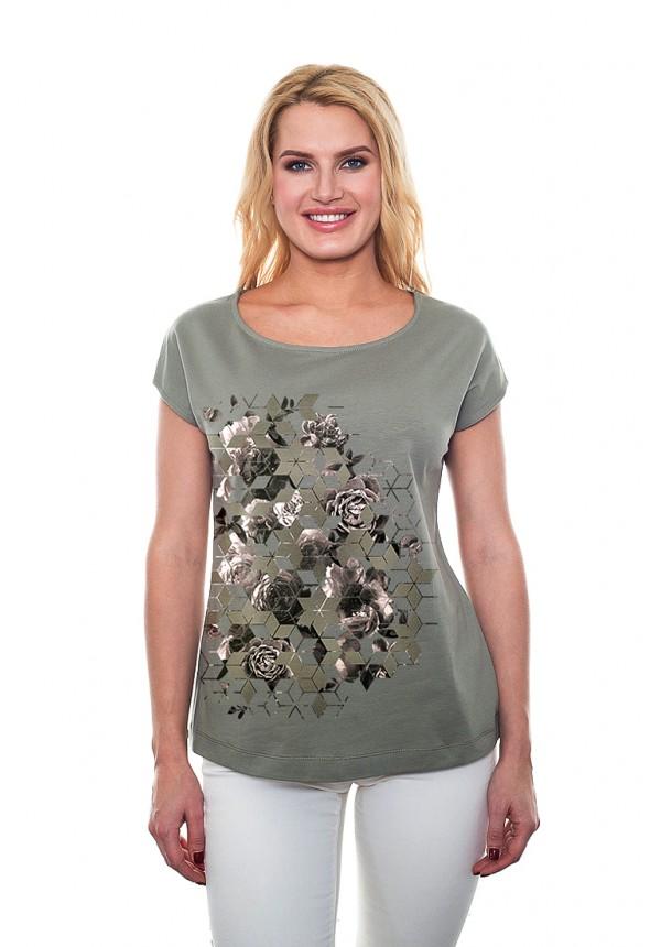 Футболки BeGood Футболка Cadence Цвет: Оливковый (M) футболки begood футболка стрекоза цвет молочный m
