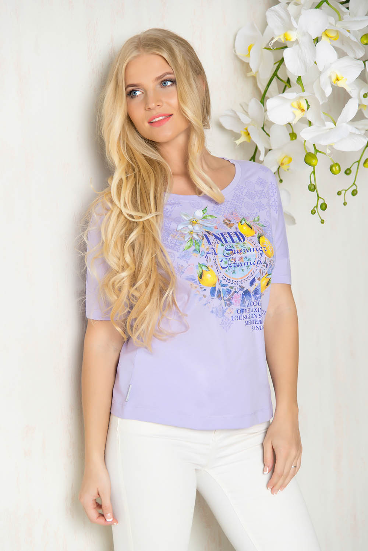 Футболки BeGood Футболка Summer Vitamin Цвет: Лаванда (xL) футболка xl это какой размер