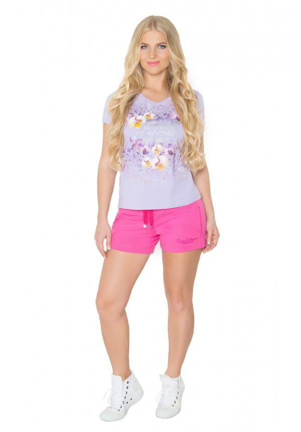 Брюки BeGood Шорты Sahra Цвет: Фуксия (L) белье gezanne шорты магическая волна l