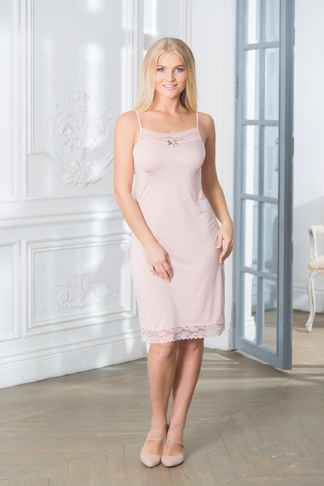 Ночные сорочки Mia Cara Ночная сорочка Dervila Цвет: Розовый (S) пижамы mia cara пижама paisley цвет розовый m l