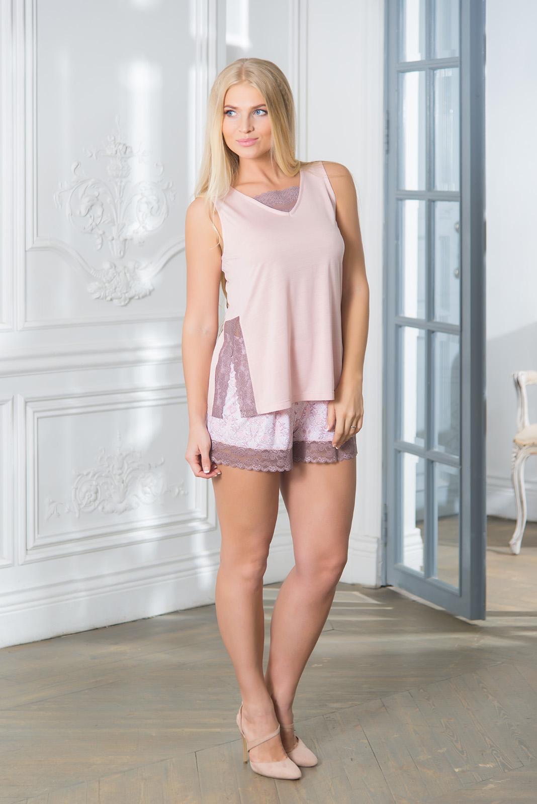 Пижамы Mia Cara Пижама Paulina Цвет: Розовый (S) пижамы mia cara пижама paisley цвет розовый m l