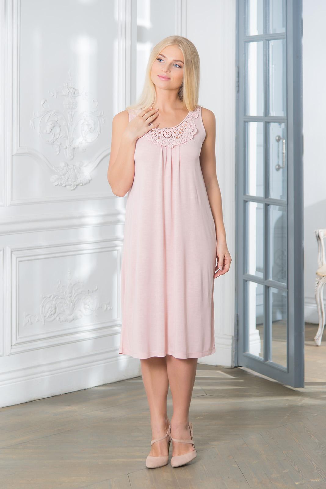 Ночные сорочки Mia Cara Ночная сорочка Aureole Цвет: Розовый (S) пижамы mia cara пижама paisley цвет розовый m l