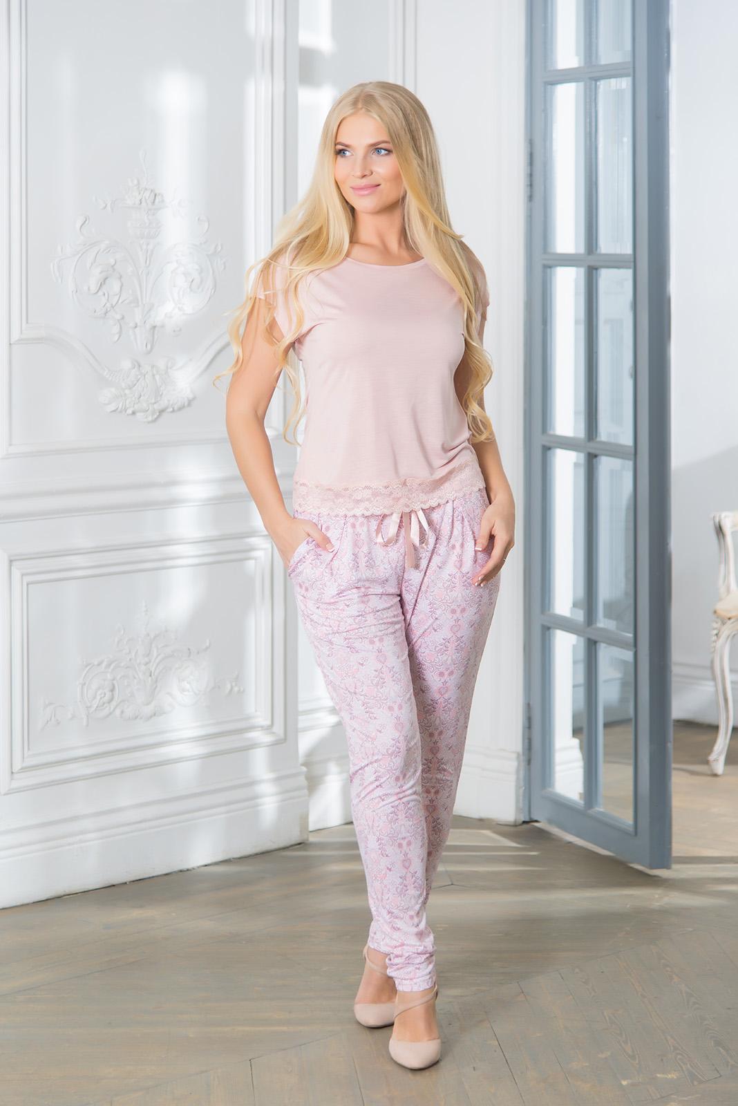 Костюмы для дома и отдыха Mia Cara Костюм для дома Caroline Цвет: Розовый (xxxL) пижамы mia cara пижама paisley цвет розовый m l
