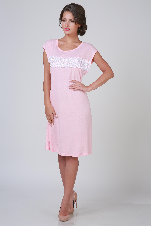 Ночные сорочки Pastilla Ночная сорочка Ласса 2 Цвет: Персиковый (xL-xxL) ночные сорочки linse ночная сорочка