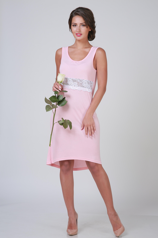 Ночные сорочки Pastilla Ночная сорочка Ласса Цвет: Персиковый (L-xL) сорочка ночная для беременных и кормящих мамин дом mojito цвет мятный 24127 размер 50