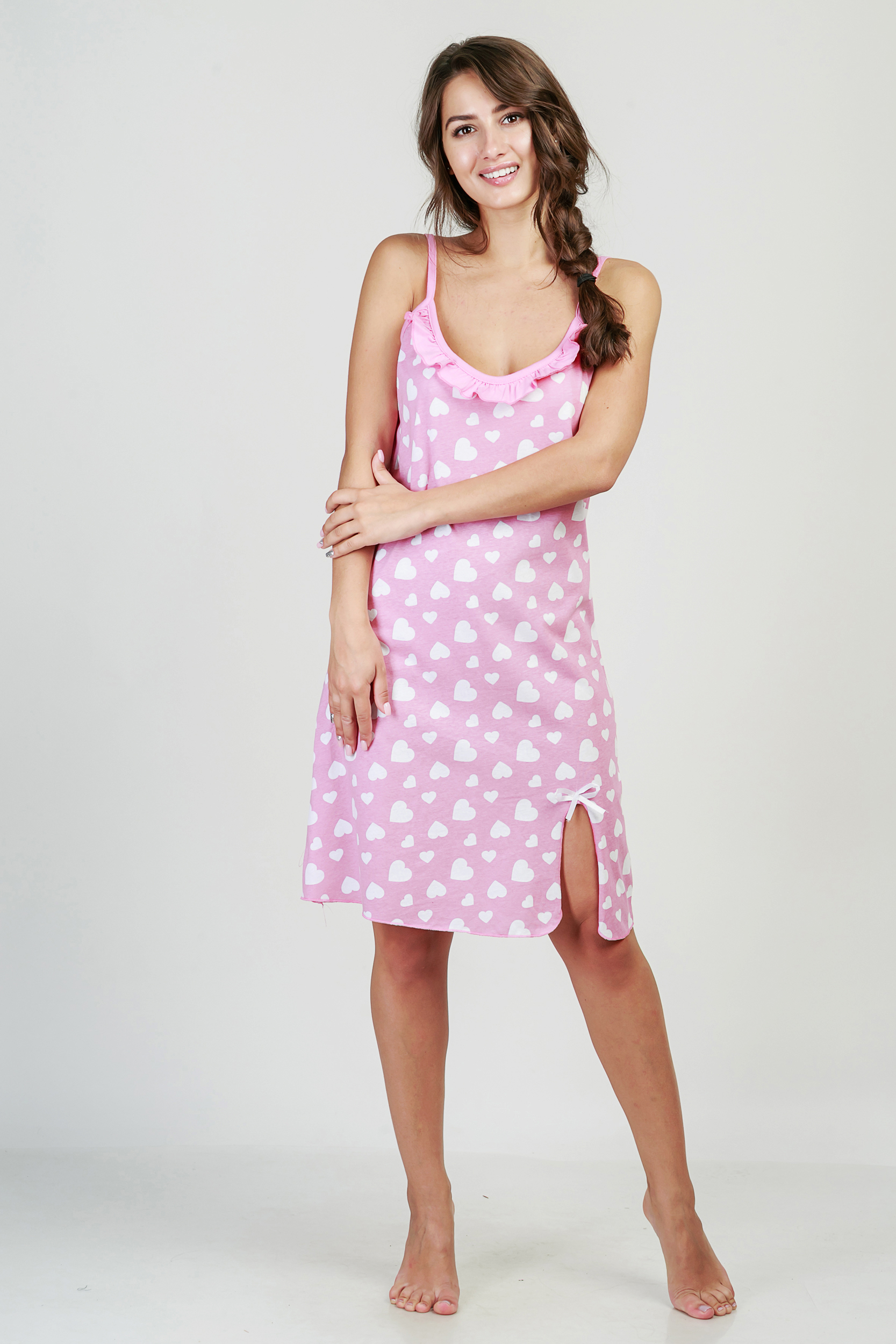 Ночные сорочки Pastilla Ночная сорочка Афродита Цвет: Брусничный (M) ночная сорочка 2 штуки quelle arizona 464118
