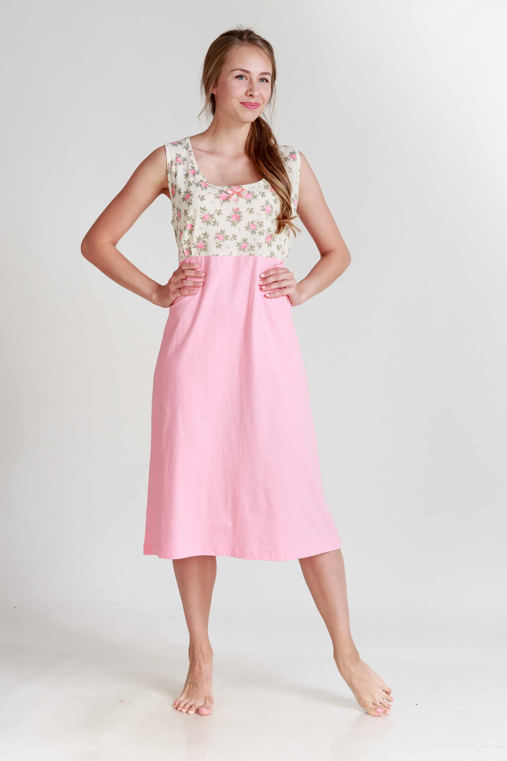 Ночные сорочки Pastilla Ночная сорочка Ваниль Цвет: Коралловый (xxL-xxxL) ночные сорочки hello moda ночная сорочка