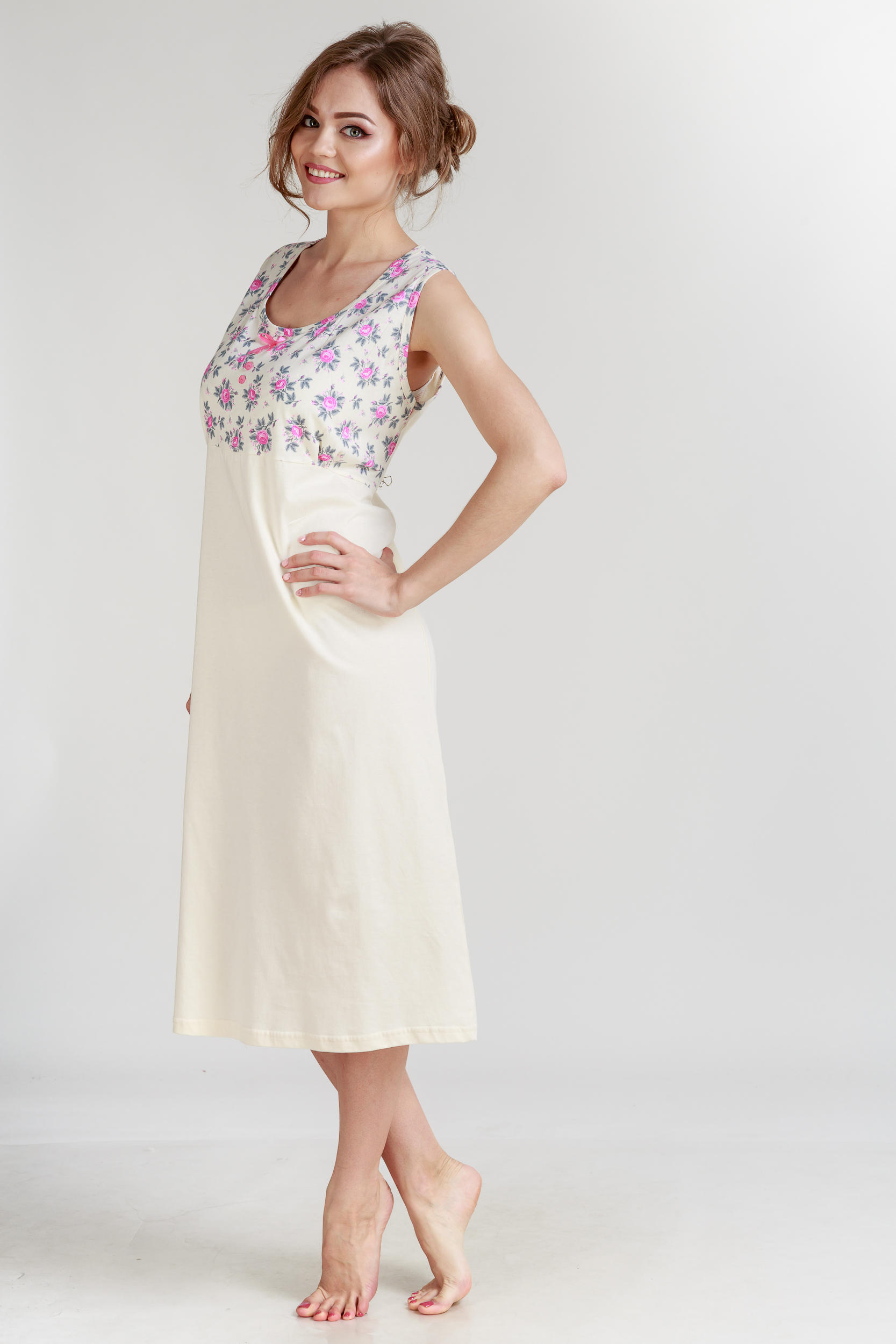 Ночные сорочки Pastilla Ночная сорочка Ваниль Цвет: Розовый (xxxL) ночные сорочки мамин дом ночная сорочка harmony