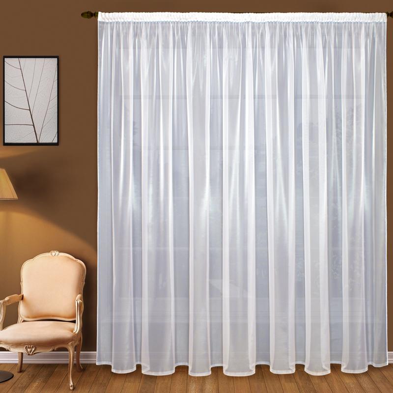 Шторы Elegante Классические шторы Дымка Цвет: Белый шторы elegante классические шторы дымка цвет персиковый