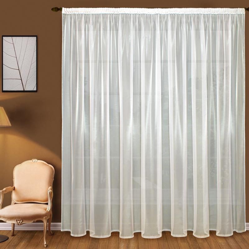 Шторы Elegante Классические шторы Дымка Цвет: Слоновая Кость шторы elegante классические шторы туман цвет персиковый
