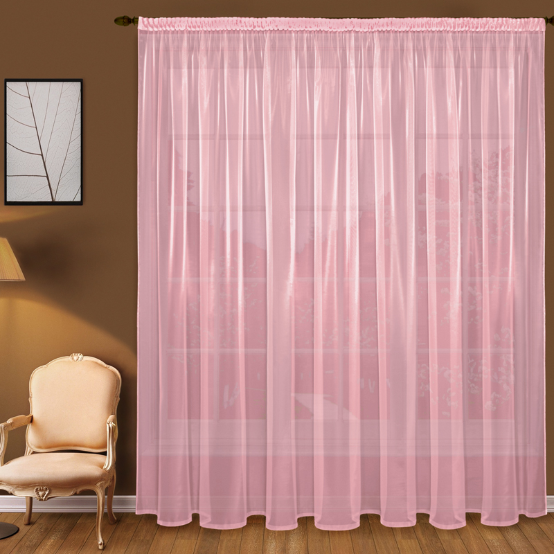 Шторы Elegante Классические шторы Дымка Цвет: Розовый шторы primavera классические шторы maev цвет персиковый