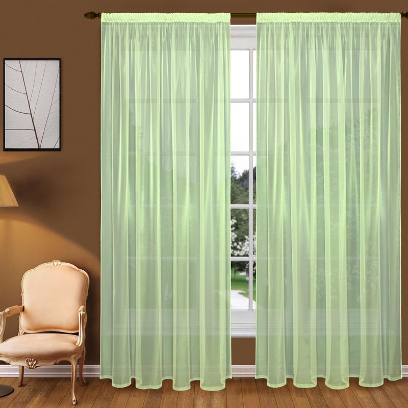 Шторы Elegante Классические шторы Туман Цвет: Зеленый шторы elegante классические шторы туман цвет персиковый