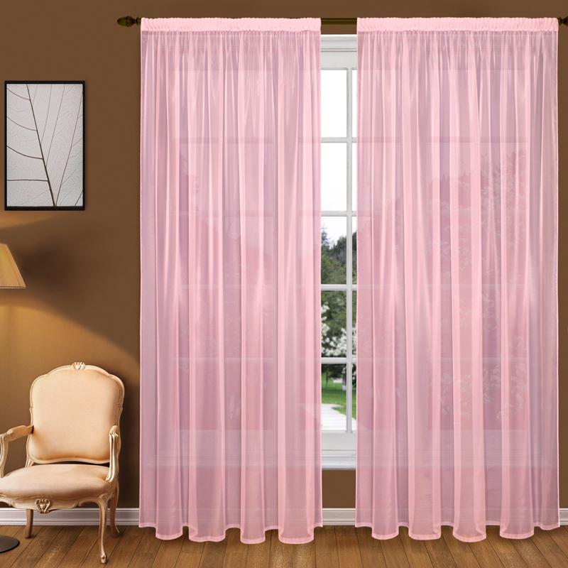 Шторы Elegante Классические шторы Туман Цвет: Розовый шторы kauffort классические шторы barolo