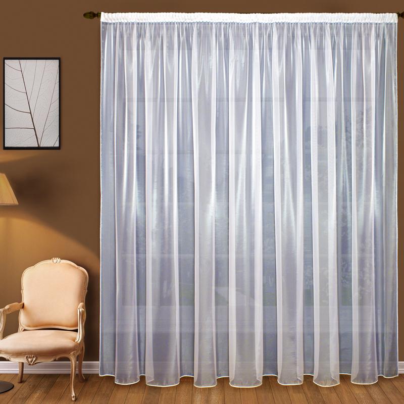 Шторы Elegante Классические шторы Облачность Цвет: Белый шторы tac классические шторы winx цвет персиковый 200x265 см