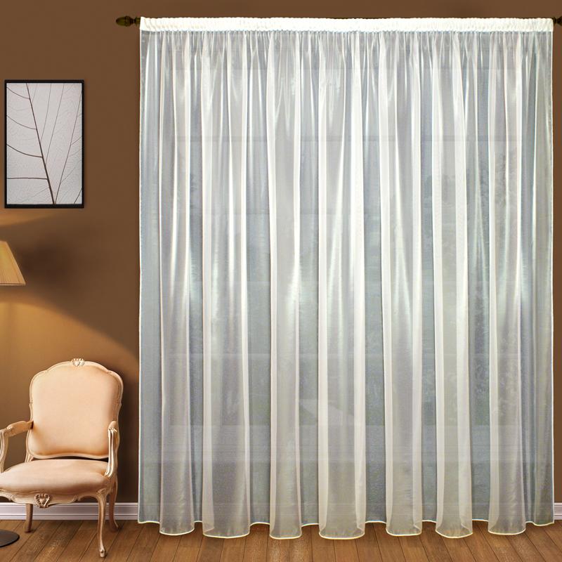 Шторы Elegante Классические шторы Облачность Цвет: Слоновая Кость шторы kauffort классические шторы barolo
