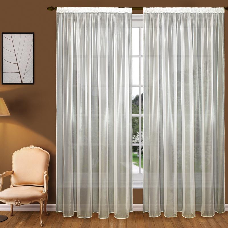 Шторы Elegante Классические шторы Облачность Цвет: Слоновая Кость шторы elegante классические шторы туман цвет персиковый