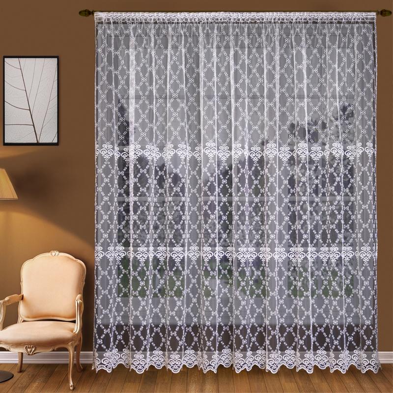 Шторы Elegante Классические шторы Изящность Цвет: Белый шторы tac классические шторы winx цвет персиковый 200x265 см