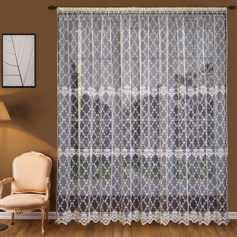Шторы Elegante Классические шторы Изящность Цвет: Слоновая Кость шторы tac классические шторы winx цвет персиковый 200x265 см