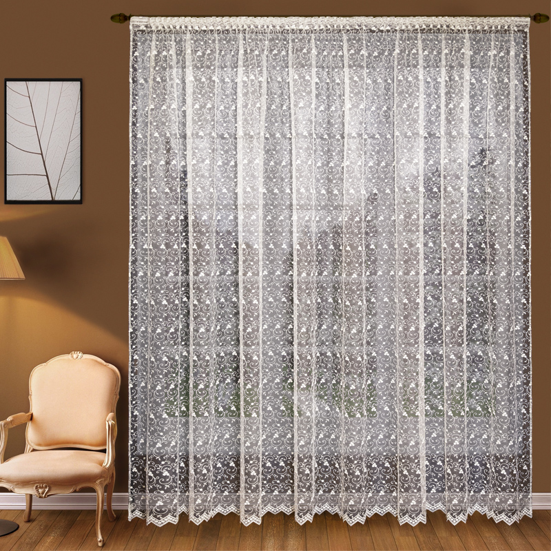 Шторы Elegante Классические шторы Ягодки Цвет: Слоновая Кость шторы kauffort классические шторы barolo