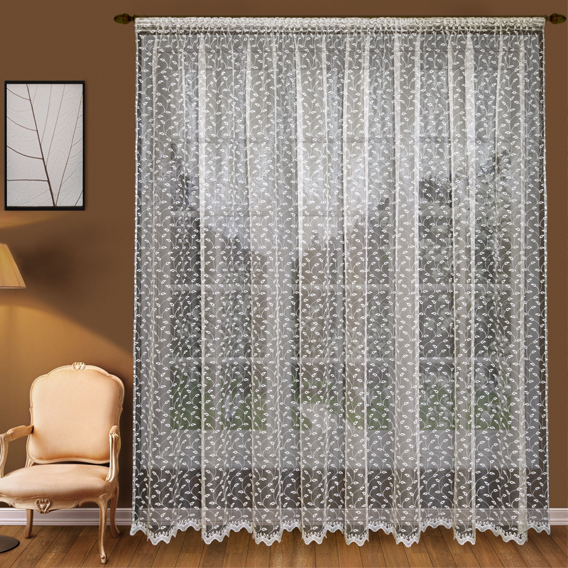 Шторы Elegante Классические шторы Молодые Побеги Цвет: Слоновая Кость шторы elegante классические шторы туман цвет персиковый