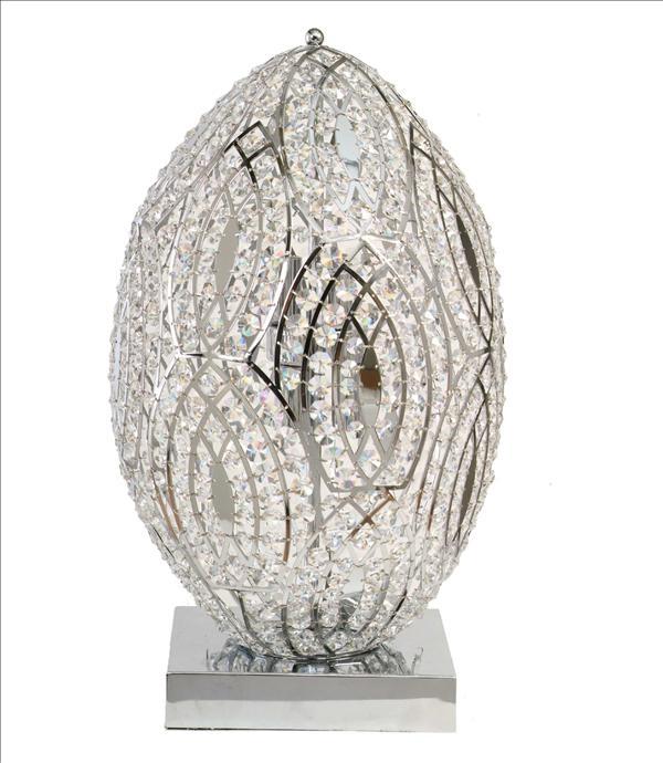 {} CRYSTAL LIGHT Настольная лампа Bunita (36х60 см) настольный светильник crystal